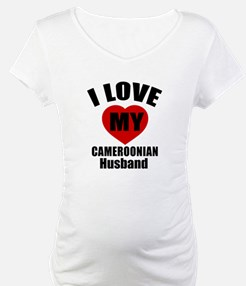 I Love My Cameroonian Husband Shirt