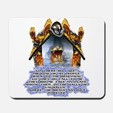 Viking 13th worrier t-shirts gifts Mousepad