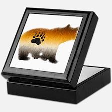 BEAR PRIDE FURRY BEAR 2 Keepsake Box
