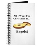 Christmas Bagels Journal