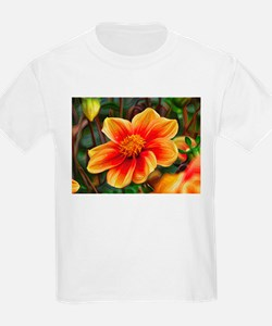 DeepDream Flowers 01 T-Shirt