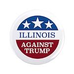 Illinois Against Trump Button