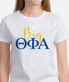 Theta Phi Alpha Big Letters Women's T-Shirt