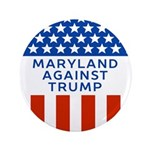 Maryland Against Trump Button