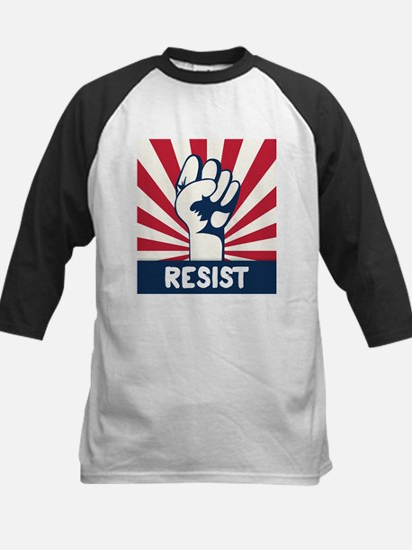 RESIST Fist Kids Baseball Jersey