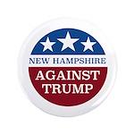 New Hampshire Against Trump Button