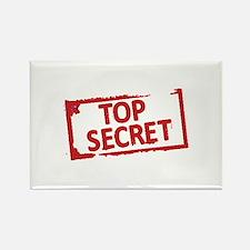 Top Secret Stamp Magnets