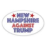 New Hampshire Against Trump Sticker