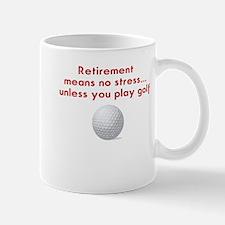 Golf in retirement Mugs