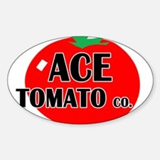Ace Tomato Co Rectangle Decal