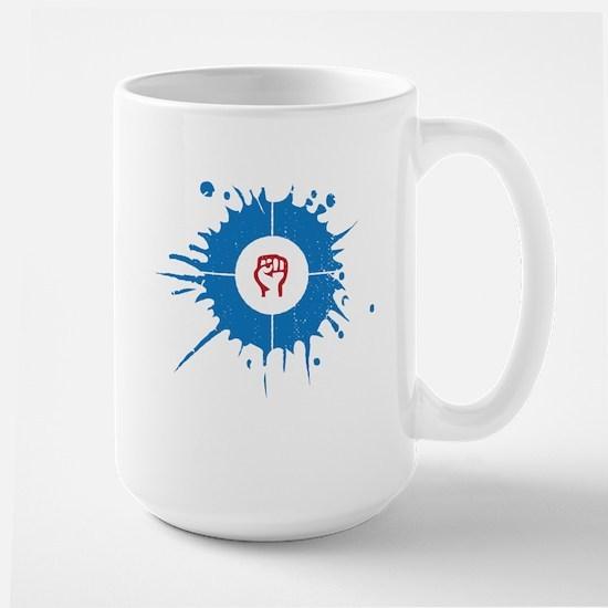 House / resist Mugs