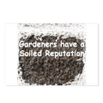 Gardener's soiled reputation Postcards (Package of