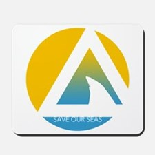 SOS save our seas tricircle Mousepad