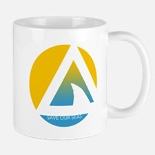 SOS save our seas tricircle Mugs