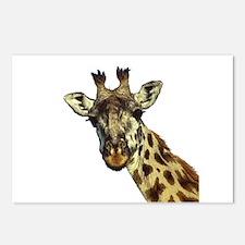 GIRAFFE Postcards (Package of 8)