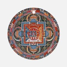 Buddhist Mandala Round Ornament