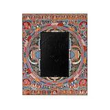 Buddhist mandala Picture Frames