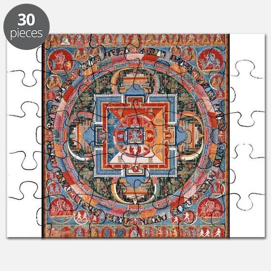 Buddhist Mandala Puzzle