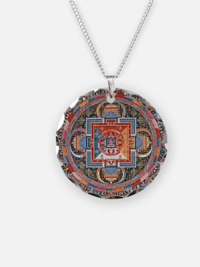 Buddhist Mandala Necklace