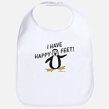 Happy Feet Penguin Baby Bib