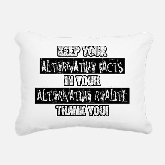 Cute Reality Rectangular Canvas Pillow