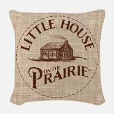Little House On The Prairie Woven Throw Pillow