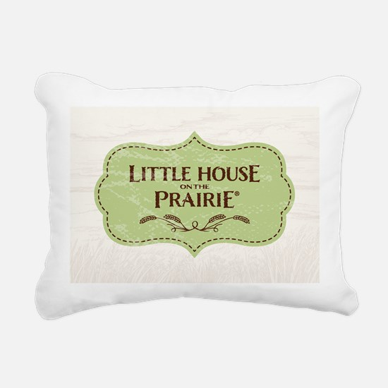 Little House Rectangular Canvas Pillow