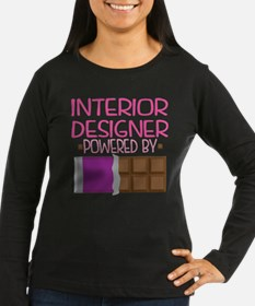 Interior Designer Funny Quote Long Sleeve T-Shirt