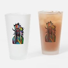 CHIEF Drinking Glass