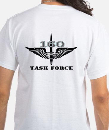 2-Sided Task Force 160 (1) White T-Shirt