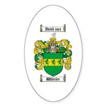 Wheeler Coat of Arms Oval Sticker