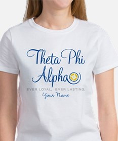 Theta Phi Alpha Personalized Women's T-Shirt