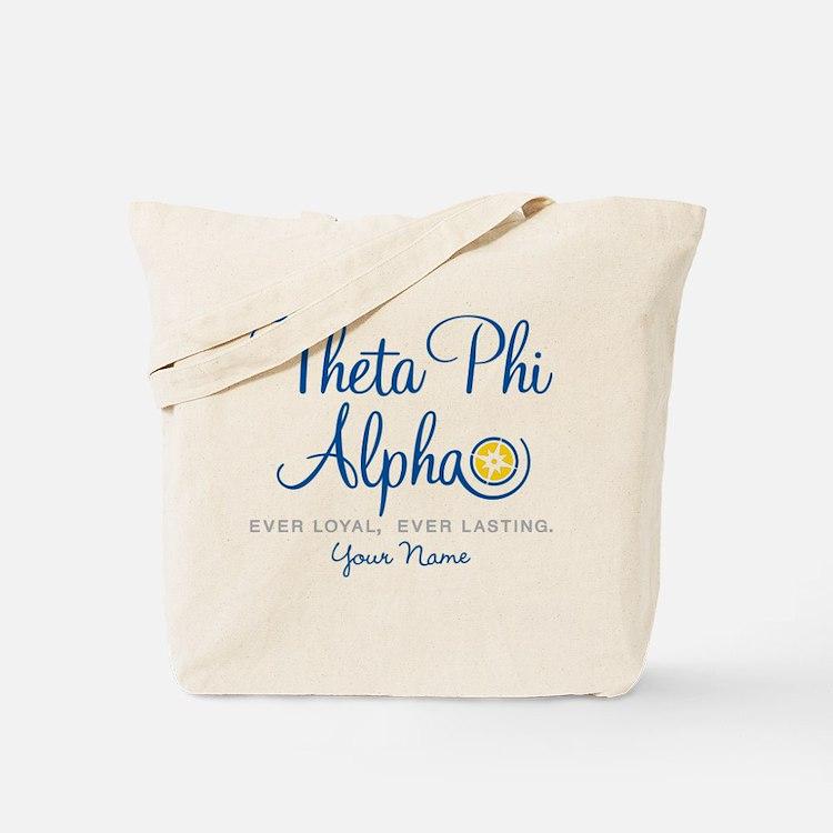 Theta Phi Alpha Personalized Tote Bag