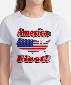 America First Women's T-Shirt
