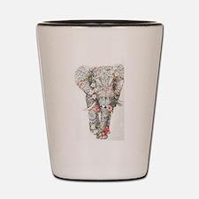 Cool Elephants Shot Glass
