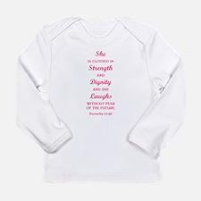 PROVERBS 31:25 Long Sleeve T-Shirt