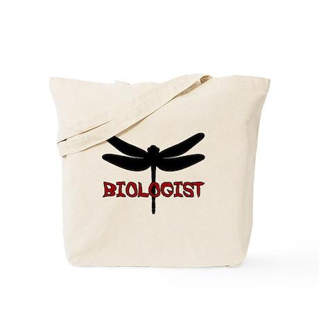 Biologist (dragonfly) Tote Bag