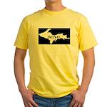 SISU - Michigan's Upper Penin Yellow T-Shirt