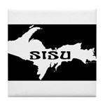 SISU - Michigan's Upper Penin Tile Coaster