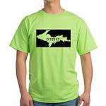 SISU - Michigan's Upper Penin Green T-Shirt