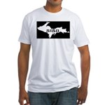 SISU - Michigan's Upper Penin Fitted T-Shirt