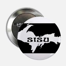 "SISU - Michigan's Upper Penin 2.25"" Button"