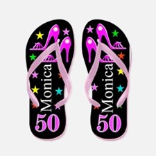 50th Fashion Flip Flops