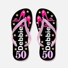 Fierce 50th Flip Flops