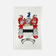 West Coat of Arms Rectangle Magnet