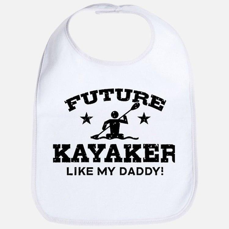 futurekayakerdad Baby Bib