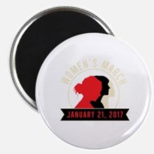 Cute Womens holiday Magnet