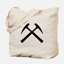 Crossed Rock Hammers Tote Bag