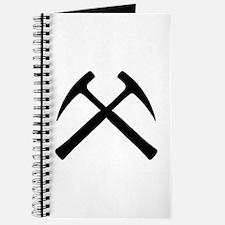 Crossed Rock Hammers Journal