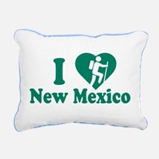 Love Hiking New Mexico Rectangular Canvas Pillow